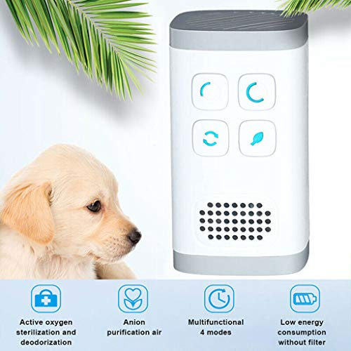 Portable 4in1 Air Purifier Health To Eliminate Smoke Smell, Cigarette Odor And General Odor Eliminator Best Fresheners For The Travel Home