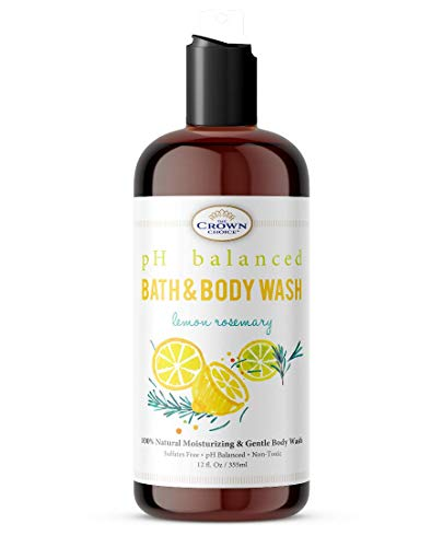 Sensitive Skin Body Wash Natural (2 Pk)| Luxury Ph 5.5 Balanced Essential Oils Bodywash | Best Non Irritating And Soothing Shower Body Gel Wash For Men, Women