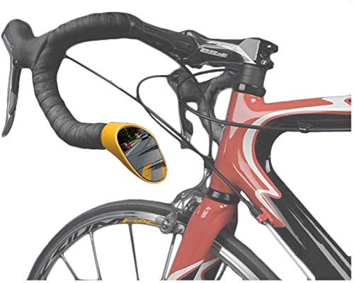 Sprintech Road Drop Bar Rearview Mirror, Pair, Best Bike Safety Mirror On The Market, Universal Fit For Bike Drop Bars