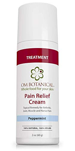 Topical Pain Relief Cream   Best Treatment For Numbing Joint, Back, Muscle, Nerve, Arthritis Pain W/organic Hemp, Capsaicin, Arnica, Comfrey, Msm, Devil's Claw, Willow Bark. All Natural Remedy