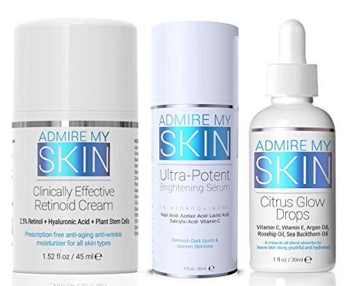 Ultra Potent Dark Spot Correcting Set Hands Down The Most Effective Regimen For Removing Dark Spots Includes The Best Dark Spot Corrector + Retinol Cream And Vitamin C Oil For A Youthful Glow