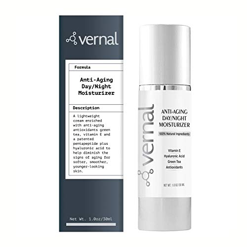 Vernal All In One Anti Aging Cream – Collagen Infused Wrinkle Smoothing Cream | Get Smoother, Firmer & Luminous Looking Skin Without Injections Or Fillers | Best Anti Wrinkle Cream That Really Work