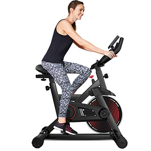 Yxwlln Magnetic Resistance Exercise Bike For Cardio Belt Drive Indoor Cycling Stationary Best Basic Spin Bike Indoor Home For Seniors (max Weight Capacity 330lbs)