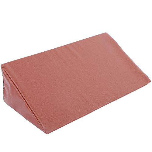 Bed Wedge Pillow Leg Elevation Back Lumbar Support Cushions Waterproof Pu Leather Cover, Rest Or Elevation, Best For Sleeping, Reading Helps Provide Relief From Acid Reflux, Snoring, Post Surgery