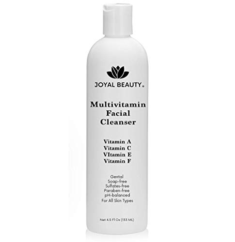 Best Face Wash Multi Vitamin Facial Cleanser For Women Man. Gentle Face Cleanser With Vitamin C,vitamin E,vitamin A,vitamin F. Best Anti Aging Non Drying Sls Free Face Wash For All Skin Types.