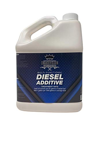 Empire Chemical Multi Functional Diesel Additive Best Diesel Additive To Increase Fuel Economy Lubricity 2.5 Ounces Per 20 Gallons Of Diesel Fuel All Season