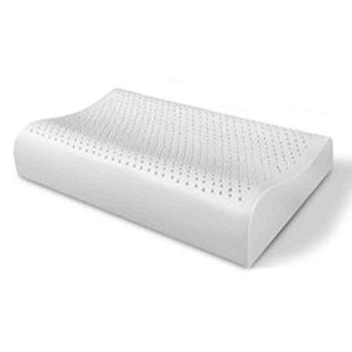Lynndre Sleep Memory Foam Contour Pillow, Cooling Gel Cervical Pillow For Neck Pain, Ergonomic Deep Sleep Contour Bed Pillow, Best Support Neck Pillows Anti Snore And Orthopaedic,white