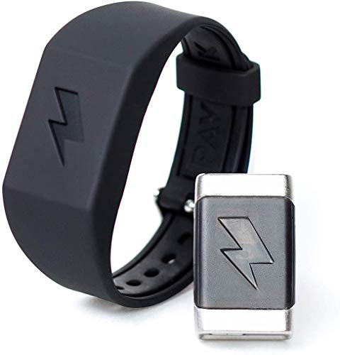 Pavlok 2 Updated Edition (2020) Fitness Tracker, Change Habits And Wake Up With Electric Zap, Improved Bluetooth And Reliability, 1 Year Everything Warranty Wearable Habit Trainer.