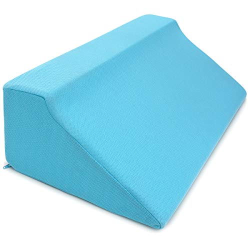 Zenesse Health Foam Wedges For Positioning Superior Side Sleep Support Pillow For Pressure Sores, Pregnancy & The Disabled. Comfortable No Crush Back Support Wedge For Bed. Best For Side Sleepers.