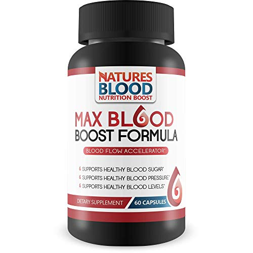 Max Blood Boost Formula Blood Flow Accelerator Supports Healthy Blood Sugar Supports Healthy Blood Pressure Supports Healthy Blood Levels The Best High Blood Pressure Supplements