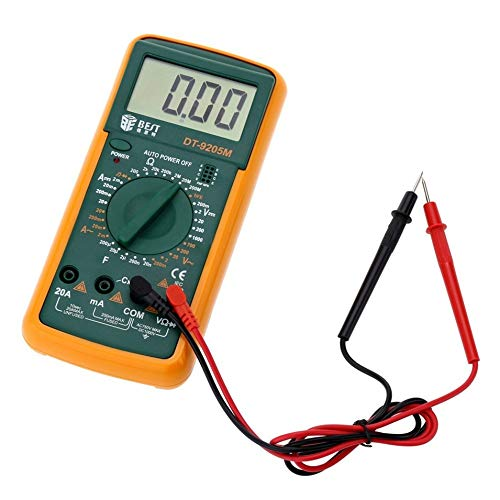 Tool Parts Brand Best Dt 9205m Digital Meter Digit Multi Meter Multitester Medidor Dijital Multimetre Digitale Multimetros Multimetr